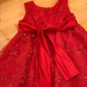 Rare Editions Dresses - Baby girl holiday dress